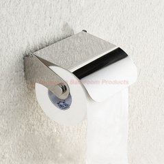 European Style Bathroom Items Stainless Steel Toilet Paper Dispenser Toilet Tissue Paper Holder mirror finish wall mounted