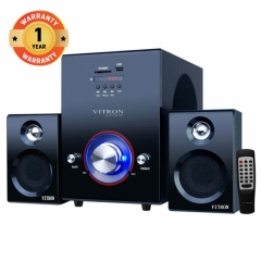 VITRON V503D Home Theater Sound System 2.1 Multimedia Bluetooth Speaker Subwoofer black 35W V503D