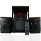 VITRON V604 Home Theater Sound System 2.1 Multimedia BT Full Functional Remote Speaker Subwoofer black 65W v604