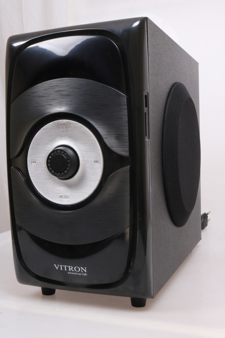 VITRON V5108 Sound System 2.1 Functional Remote Speaker Subwoofer black 85w V5108 3