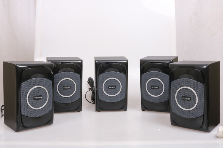VITRON V5108 Sound System 2.1 Functional Remote Speaker Subwoofer black 85w V5108 2