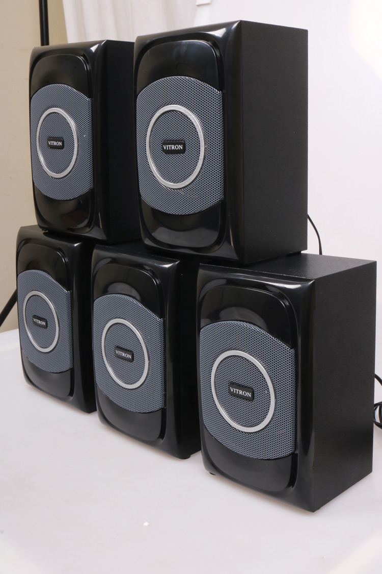 VITRON V5108 Sound System 2.1 Functional Remote Speaker Subwoofer black 85w V5108 4