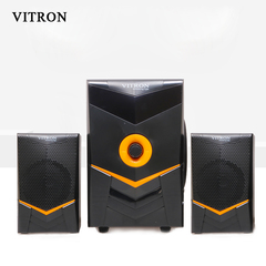 VITRON V505 Sound System 2.1 Functional Remote Speaker Subwoofer black 35w V505