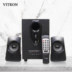 VITRON V209D Sound System 2.1 Functional Remote Speaker Subwoofer black 20w V209D