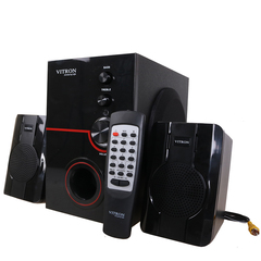 VITRON V357D Home Theater 2.1CH Stereo Multimedia Speaker System Subwoofer black 20w V357D