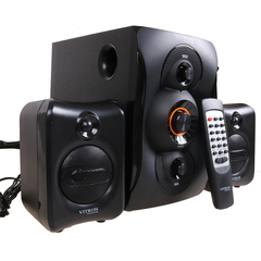 VITRON V363 Home Theater 2.1CH Stereo Multimedia Speaker System Subwoofer black 20w V363
