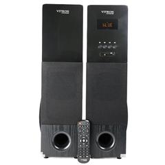 VITRON T-3065 Sound System 2.1 Functional Remote Speaker Subwoofer black 8000w T-3065