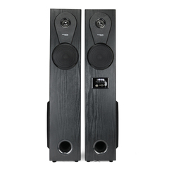 VITRON T-S080 Sound System 2.1 Functional Remote Speaker Subwoofer black 60w T-S080