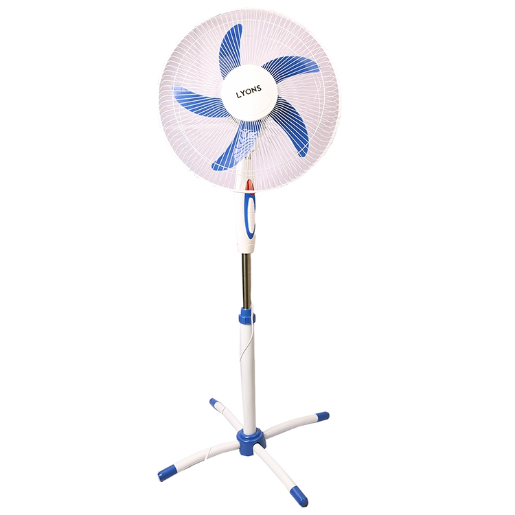 Lyons Stand Fan Powerful and Quiet ,5-Speed, Household Fan air conditioner Blue 2