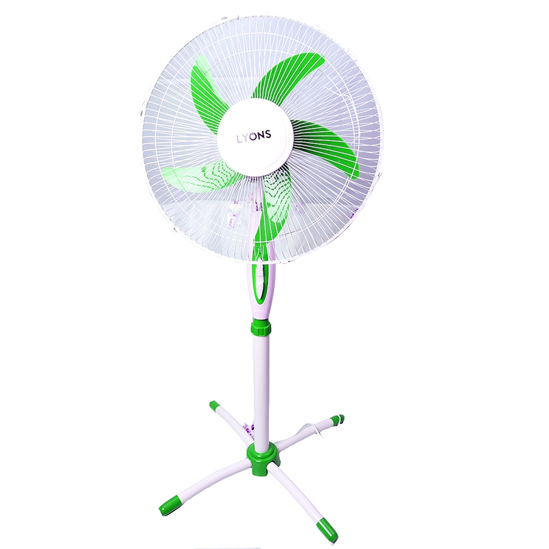 Lyons Stand Fan Powerful and Quiet ,5-Speed, Household Fan air conditioner Green 1