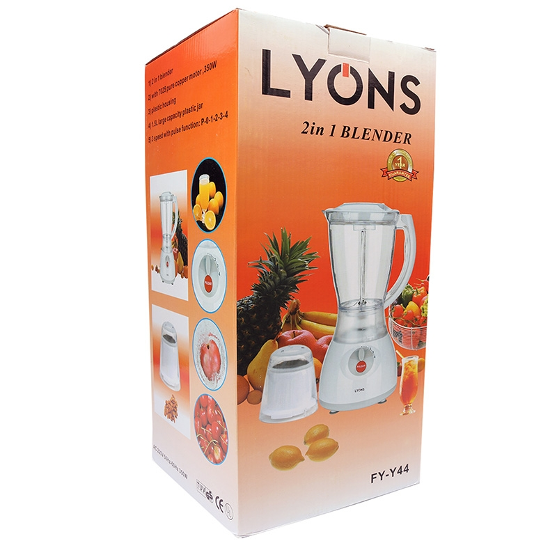 Lyons 2in 1 Blender 1.5L pink one size 13