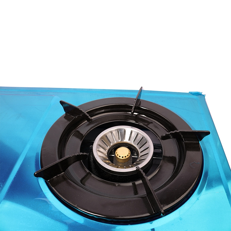 Lyons Stainless steel body Gas Stove Double Burner blue as from picture 5