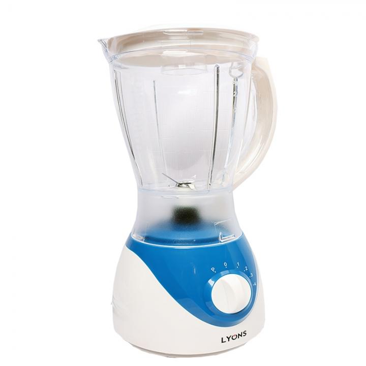 Lyons 2in 1 Blender 1.5L Blue+white one size