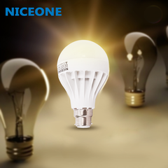 NICEONE B-22 9W Day Light Led Lamp white 11.5cm 9w
