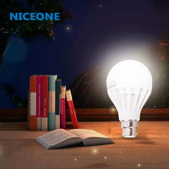 NICEONE B-22 3W Day Light Bulb Led Lamp white 7.5cm 3w