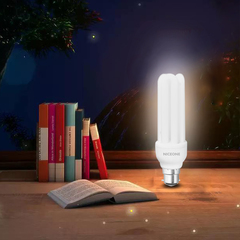 NICEONE 3U Light Bulb Energy Saving Lamp B22 6400K White 15cm 26W