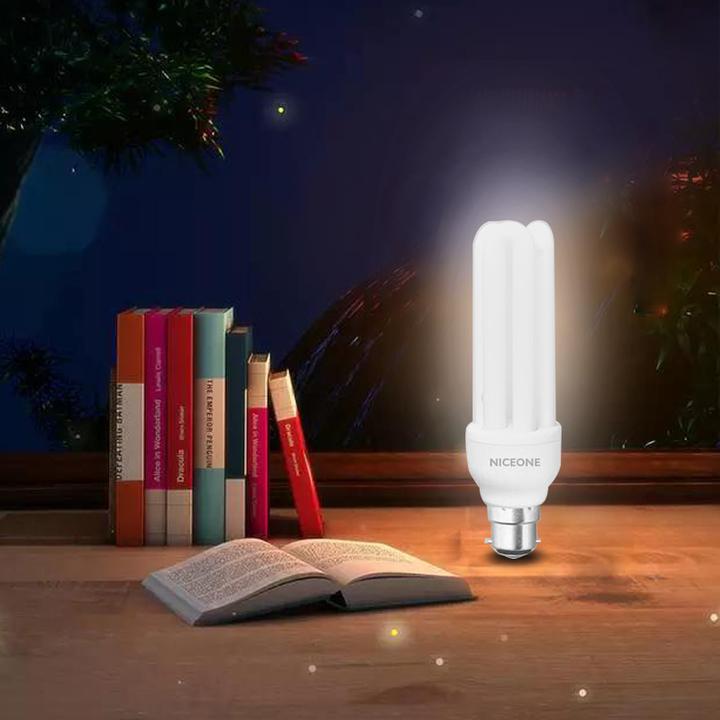 NICEONE 3U Energy Saving Lamp B22 6400K White 15cm 26W