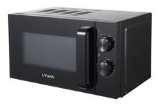LYONS P70H20L-XJ - Digital Microwave Oven  - 20L Black 20l 700W Black 20l 700w