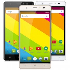 Timmy M20 5.5 inch Android 6.0 3G Phablet MT6580 Q GOLDEN EU PLUG