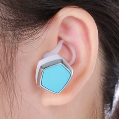 H350 Bluetooth V4.1 Headset with Calls Answer Func LAKE BLUE