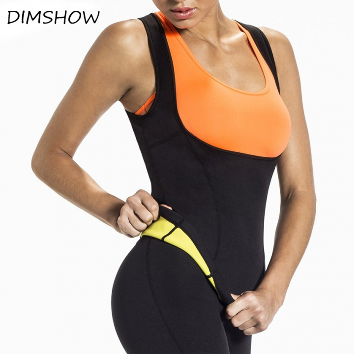 Hot Body Shapers Vest Waist Trainer Slimming Vest Shapewear Weight Loss Waist Shaper Corset black s