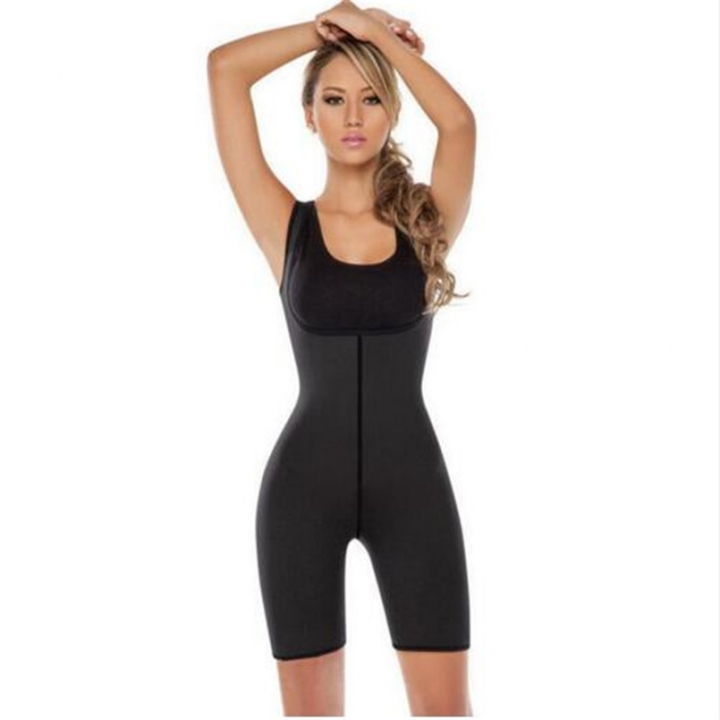 6a12f18837 hot shapers waist trainer corsets Neoprene waist trainer body shaper  bodysuit Slimming Underwear black s