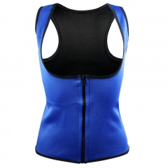Hot Neoprene Body Shaper Slimming Waist Trainer Cincher Vest Women 2018 Sexy blue s
