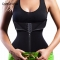 Black Waist Trainer Tummy Control Corsets Tops for Women with Zipper Slimming Modeling Shaper Belt blue s