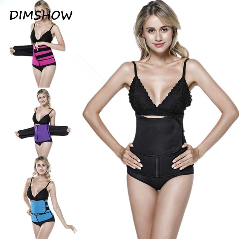 b253b8e239 Neoprene Sauna Shapewear Thermo Waist Trimmer Body Shaper Waist Slimming  Belt Zipper Waist Trainer purple s  Product No  2700617. Item specifics   Seller ...
