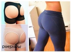 Sexy Women Shapers Panty Slim Boyshort Underwear Slim Carry buttock underwear black xl