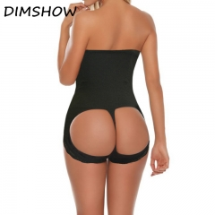 Control Pants Butt Lifter with Tummy Control Panties Women hight waist Slim Body Shaper Wear black l
