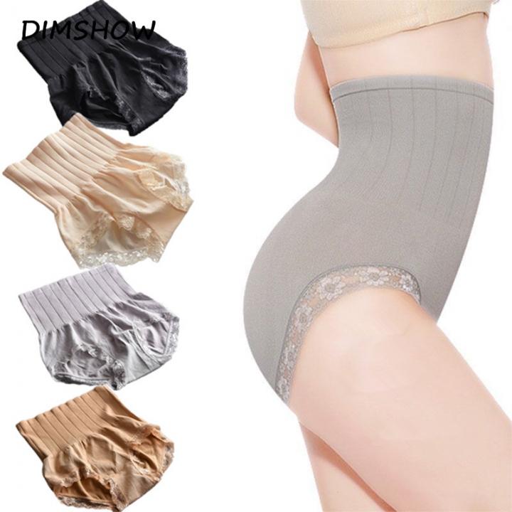 421c1b82b5b Women Japan Premium High Waist Slimming Shaping Panty Waist Trainer Lace  Pants Butt Lift Body Shaper
