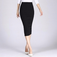 Long Pencil Skirts Women Sexy Slim Package Hip Maxi Skirt Lady office lady skirts black free size