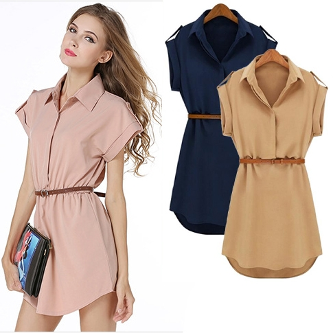 1e430e0b60a08 ... New Fashion Women Sexy Plus Size Summer Dresses Evening Party Beach  Mini Dress s khaki: Product No: 2801060. Item specifics: Seller SKU:裙子110:  Brand: