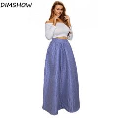 New 2018 Summer Women Beach Long Skirt Flora Print High Waist Maxi Skirts Vintage Boho Causal Skirt as picture s