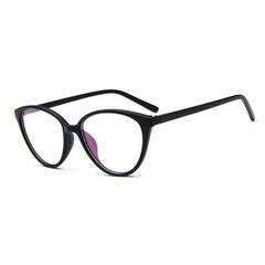 Vintage Cat Eye Glasses Frame  Fashion Classic Frame Mirror Female Brand Designer Optical Eyeglasses 1 one size