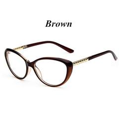 Cat Eye Glasses Frame Optical Glasses Prescription Glasses Men Eyeglasses Frames 3 one size