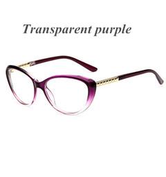 Cat Eye Glasses Frame Optical Glasses Prescription Glasses Men Eyeglasses Frames 7 one size