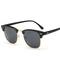 Top Classic Men women Rayban Hot sunglasses black+grey one size
