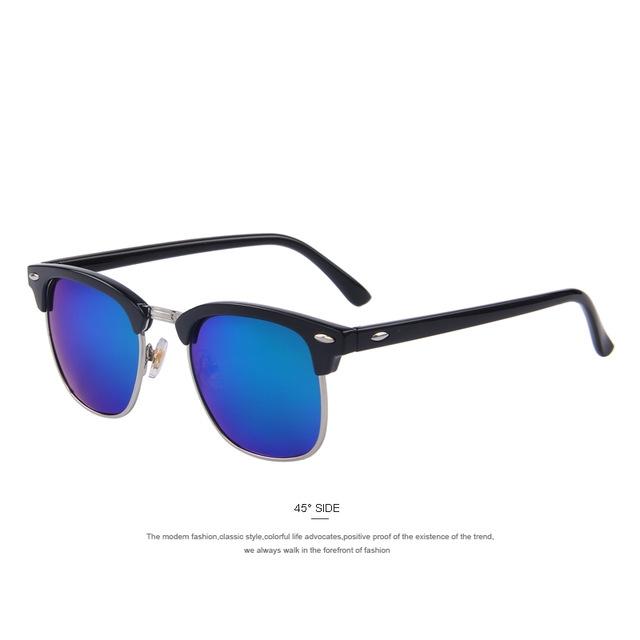 Top Classic Men women Rayban Hot sunglasses black+blue one size