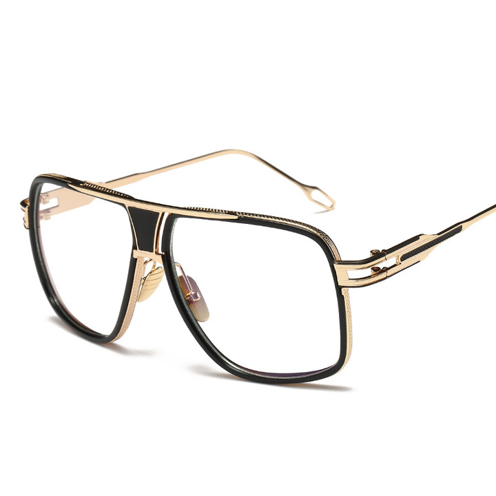 6169bc101a Oversize Square Sunglasses Men Women Celebrity Sun Glasses Driving Superstar  Luxury Brand Designer transparent one size