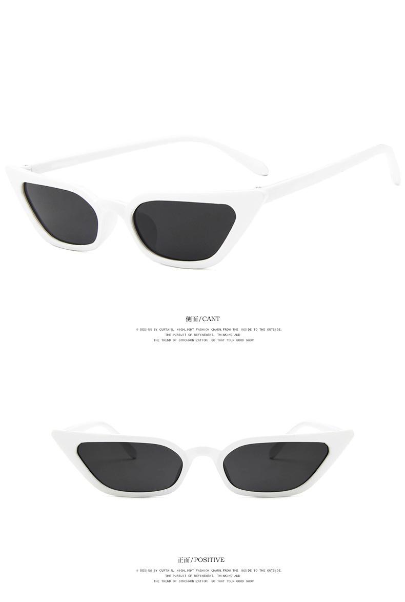 e9c33de7ac5 New Women Small Cat Eye Sunglasses 2018 Vintage Fashion Brand ...