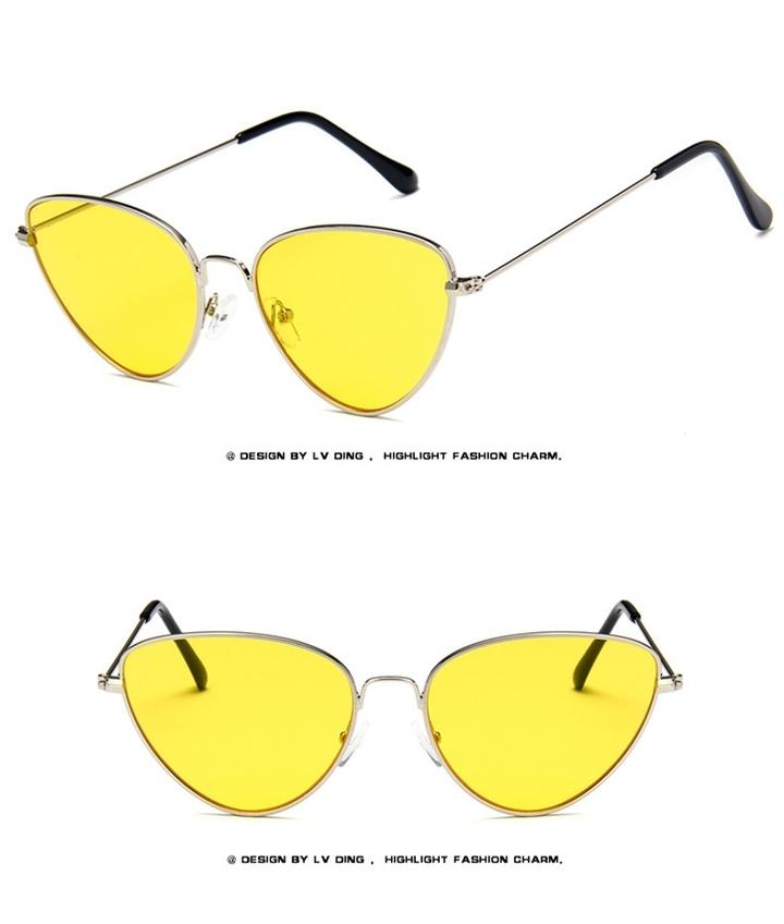 ddb39c243f8 Superhot Fashion Cat Eye Sunglasses Women Brand Designer Sun glasses for  women Lenses UV400 silver+