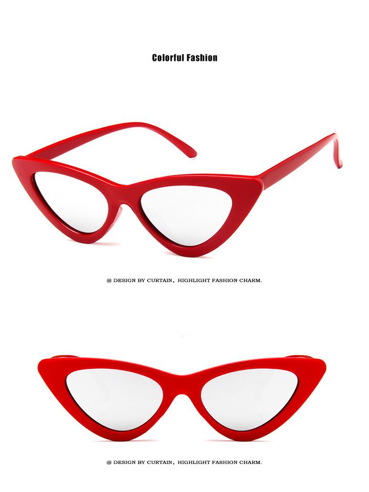 f22a13b382c2 cute sexy retro cat eye sunglasses women small 2018 triangle vintage cheap  sun glasses female uv400
