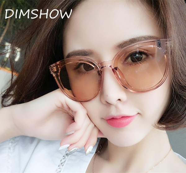 5373539c8a6 2018 Fashion Cat Eye Style Gradient Sunglasses Women Vintage Classic Brand  Design Sun Glasses champagne one size