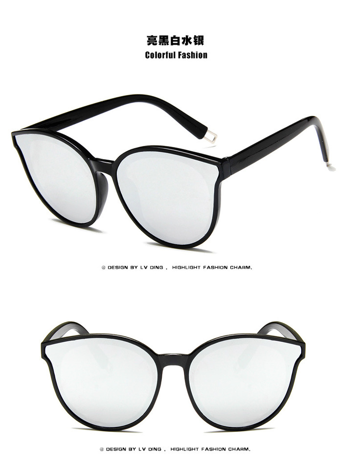 238b47581 2018 Fashion Cat Eye Style Gradient Sunglasses Women Vintage Classic Brand  Design Sun Glasses silver one