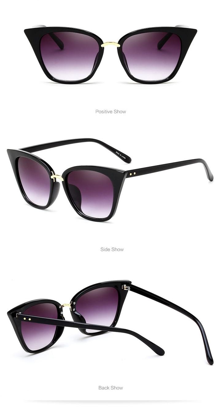 dc755daad71 Women Vintage Cat Eye Frame Plain Eyeglass Frame Optical Eyeglasses Clear Lens  Glasses for Women black