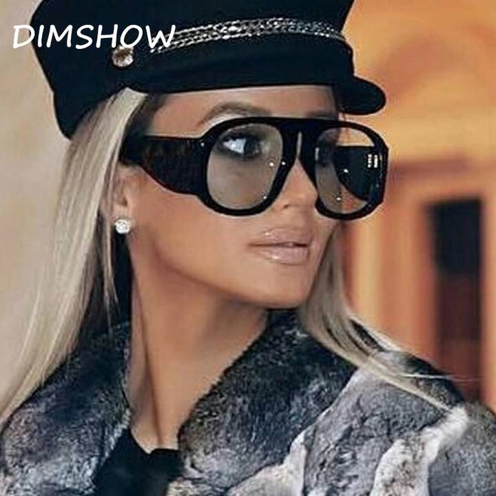 55608cd5431 Kilimall  2018 New Classic Aviator Oversized Sunglasses Women ...