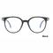 2018 Fashion Women Glasses Men Eyeglasses Vintage Round Clear Lens Glasses Optical Spectacle Frame black one size