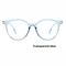 2018 Fashion Women Glasses Men Eyeglasses Vintage Round Clear Lens Glasses Optical Spectacle Frame blue one size